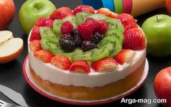 انواع نمونه های ایده آل و زیبا برای دیزاین چیز کیک
