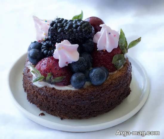 تزیینات زیبا و ناب برای چیز کیک