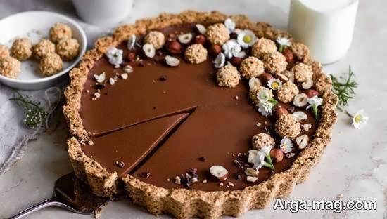 نمونه هایی زیبا و ایده آل از تزیین چیز کیک