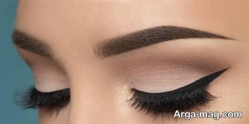 مدل آرایش چشم آهویی