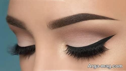 آرایش چشم زیبا و آهویی