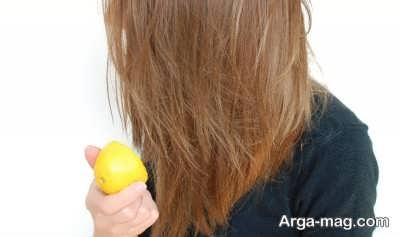 آموزش رنگ زدن موها به کمک آبلیمو