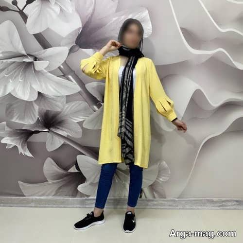 مانتوی زرد 1400