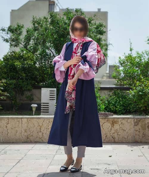 طرح مانتوی دخترانه برای عید نوروز