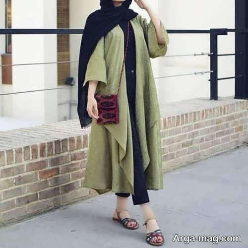 مانتو بلند دخترانه عید 1400