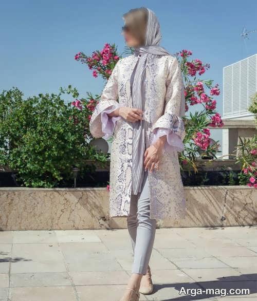 مانتوی کوتاه دخترانه برای عید نوروز