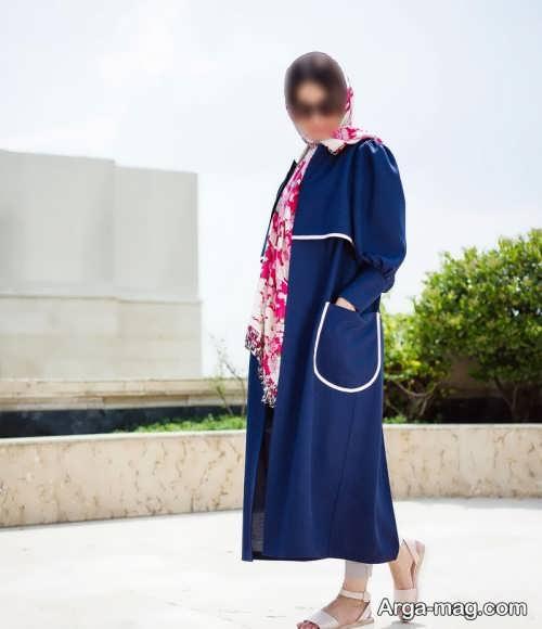مانتوی بلند دخترانه برای عید 1400