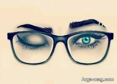 انشاء در مورد عینک