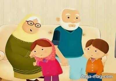 انشایی جالب در مورد مادربزرگ