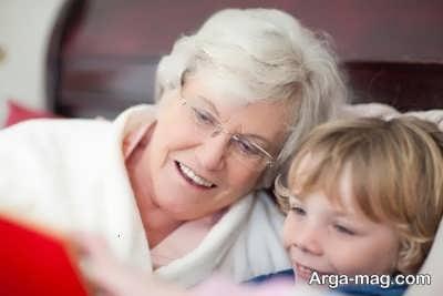 انشا زیبا در مورد مادر بزرگ