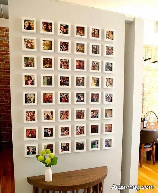 ایده هایی زیبا و خلاقانه برای پوشاندن دیوارهای خالی خانه