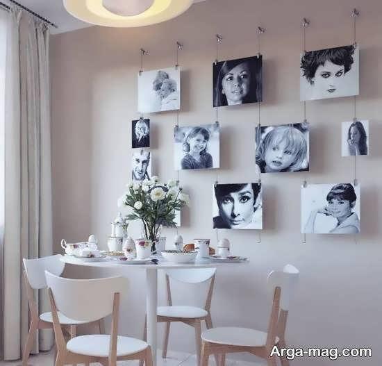 نمونه هایی خاص و خارق العاده پر کردن دیوارهای خالی منزل