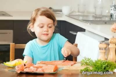 بررسی خواص ماهی در کودکان