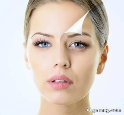 از بین بردن چین و چروک با آرایش