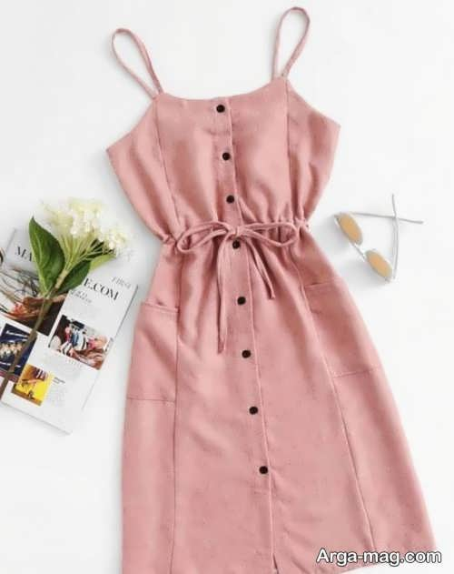 لباس دخترانه ساده برای عید 1400