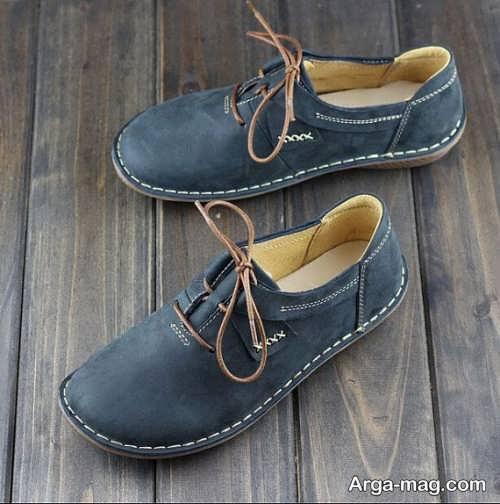 مدل کفش چرم دخترانه با انواع طرح های جدید و خاص
