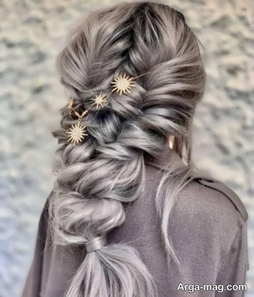 شینیون موی شیک و زیبا