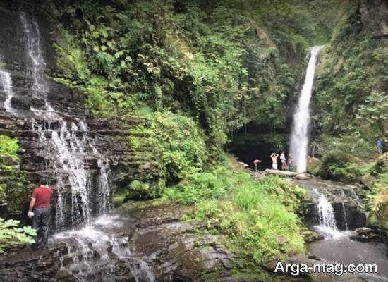 معرفی مکان های دیدنی جنگل، ساحل، آبشار و دره ها و چمنزارهای حویق