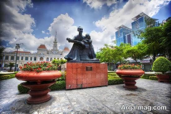 آشنایی با مناطق دیدنی هوشی مین کشور ویتنام