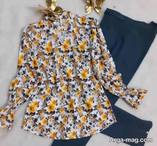 ۳۰ استایل جذاب لباس خانگی برای عید ۱۴۰۰ مخصوص خانم های شیک پوش