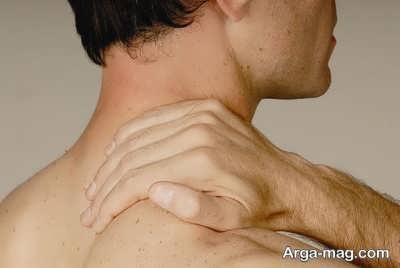 انواع درمان خانگی درد کتف