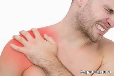 درمان کردن خانگی درد شانه