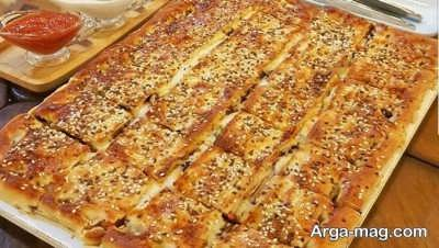 آموزش تهیه پیتزا بعلبکی