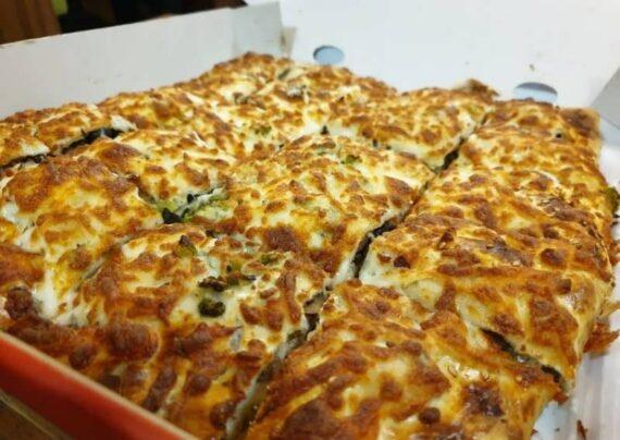 طرز تهیه پیتزا بعلبکی با طعم بی نظیر
