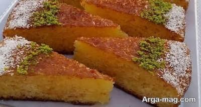 دستور تهیه کیک خیس وانیلی