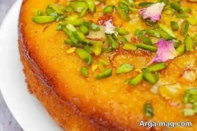 طرز تهیه کیک خیس وانیلی با طعم عالی