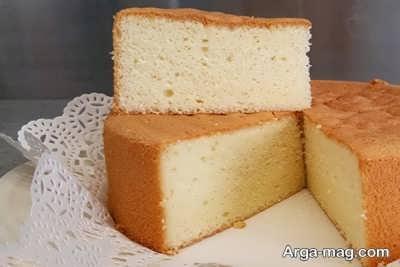 آموزش تهیه کیک وانیلی بدون فر