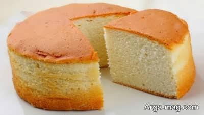 طریقه پخت کیک وانیلی بدون فر