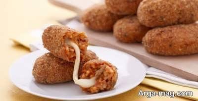 اسنک ایتالیایی خوشمزه و لذیذ