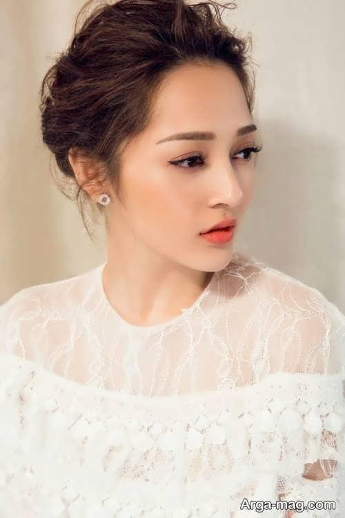 مدل های آرایش عروس به سبک کره ای