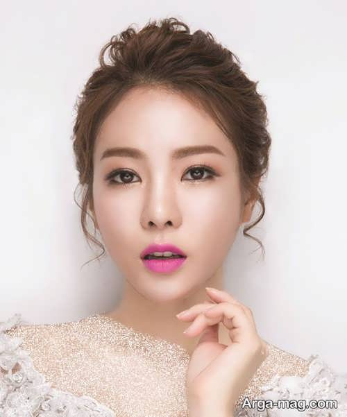 میکاپ صورت عروس به سبک کره ای