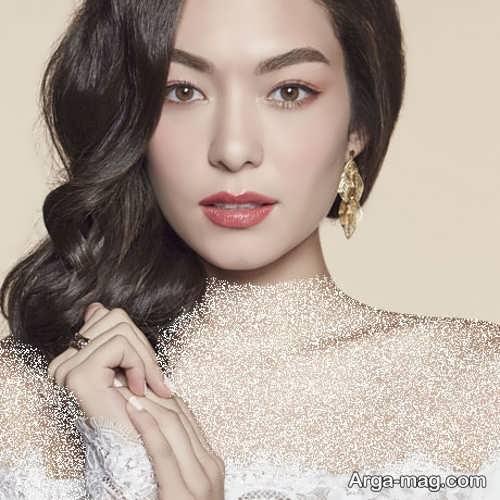 مدل های آرایش عروس کره ای زیبا و خاص