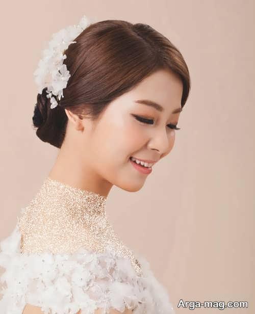 آرایش زیبا عروس کره ای