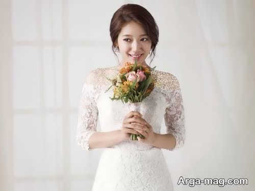 میکاپ عروس کره ای زیبا