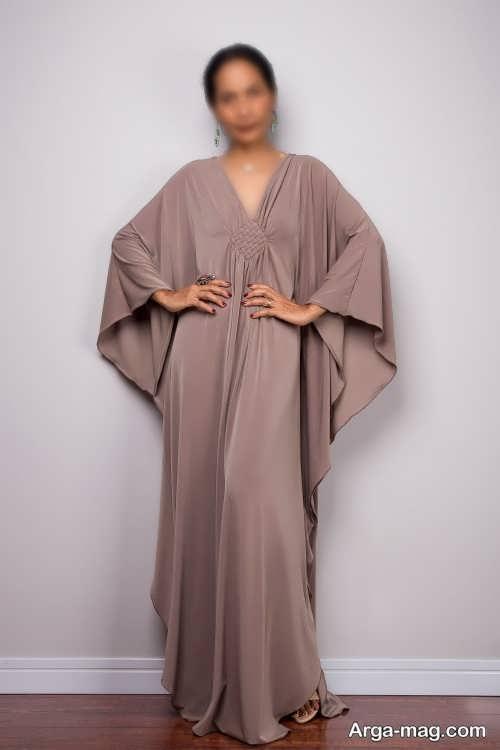 مدل لباس مجلسی گشاد با طراحی شیک و دلبرانه