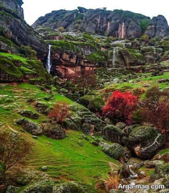 طبیعت مخمل کوه