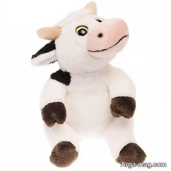 اموزش ساخت عروسک گاو با شیوه ای ساده در منزل
