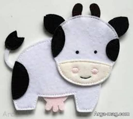 اموزش ساخت عروسک گاو یکی از عروسک های محبوب