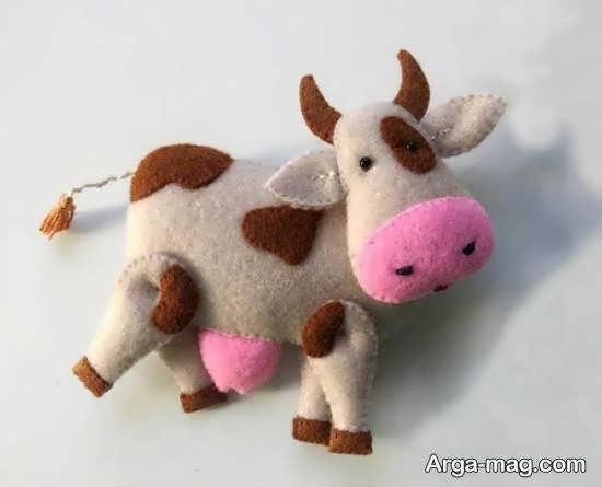 آموزش درست کردن عروسک گاو نمدی