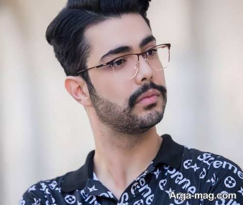 طرح عینک مردانه