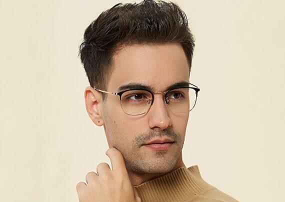 مدل عینک طبی مردانه