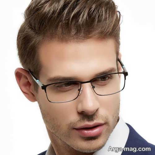 عینک ساده مردانه