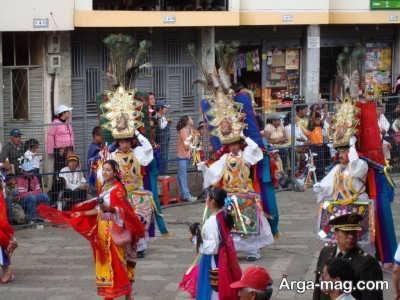 فرهنگ مردم ساکن اکوادور