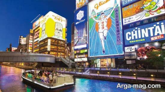معرفی جاذبه های دیدنی و تماشایی اوساکا