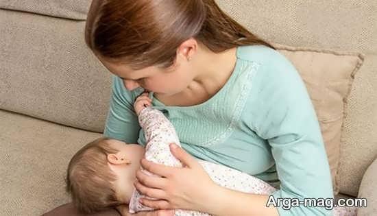 روش مصرف ماکارونی در دوره شیردهی