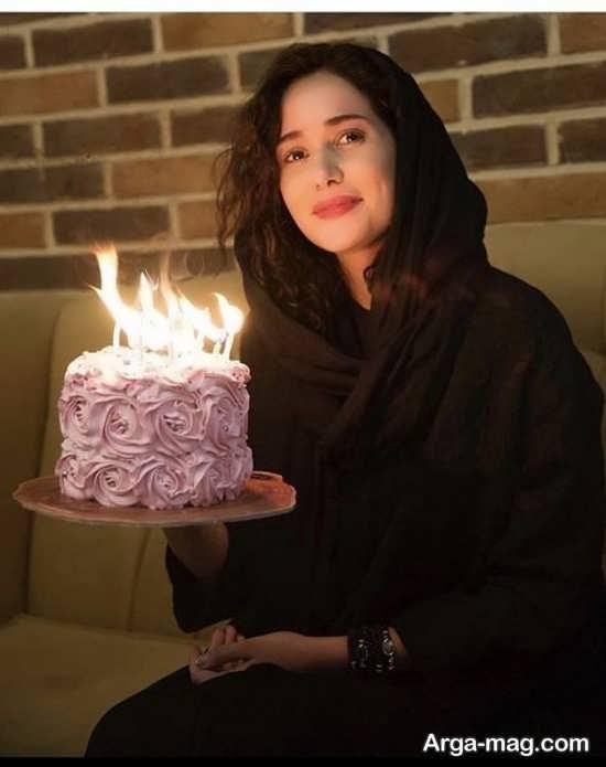 نمونه فیگور جالب و جذاب با کیک تولد
